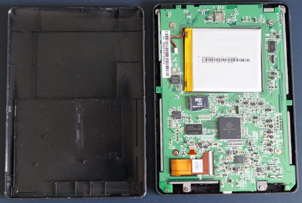 e-reader inside